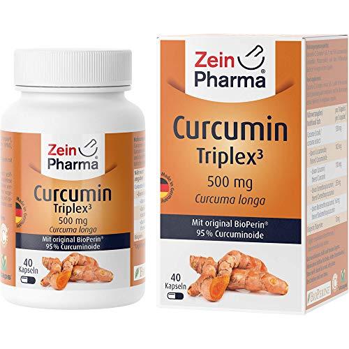ZeinPharma Curcumin Triplex3 500 mg Kapseln, 40 pcs. Capsules