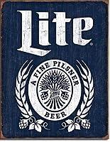 ミラーライトビールサイン