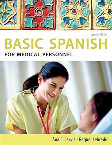 Basic Spanish for Medical Personnel