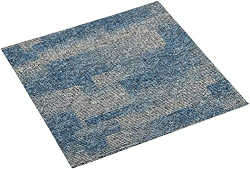 vidaXL 20x Baldosas de Moqueta de Suelo Loseta Oficina Hogar Despacho Edificio Corporativo Doméstico Transformar Práctica Resistente 5 m² Azul Claro