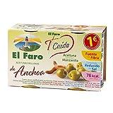 El Faro Aceituna Rellena Anchoa - 2 x 50 gr.