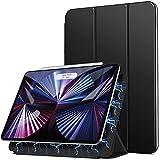 ZtotopCase Funda para iPad Pro 11 Pulgadas 2021/2020, Respaldo magnético Inteligente Smart Cover Auto-Sueño/Estela,Estuche iPad Pro 11 2021/2020,Negro