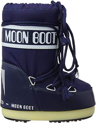 Moon-boot Nylon, Bottes de Neige, Rosso 002J, 31/34 EU