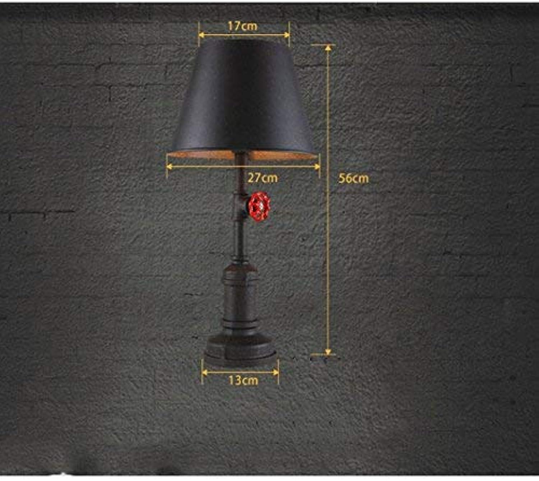 AME Tischlampe Persönlichkeit rustikale Retro-Lampe, Steampunk-Industrie-Wasserrohr Lampe Lampe Lampe Coffee Shop, Studie, Schlafzimmer, Rost Farbe B07JFG73L2     | Ruf zuerst  c2c09f