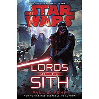 Lords of the Sith: Star Wars                   By:                                                                                                                                 Paul S. Kemp                               Narrated by:                                                                                                                                 Jonathan Davis                      Length: 10 hrs and 56 mins     18 ratings     Overall 4.7