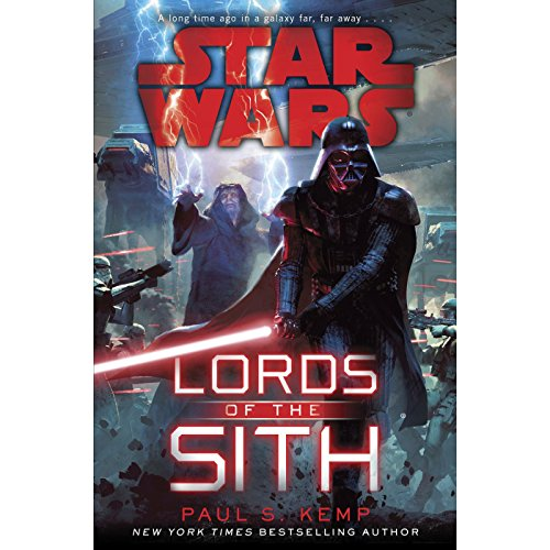 Lords of the Sith: Star Wars audiobook cover art