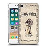 Head Case Designs Oficial Harry Potter Dobby House Elf Creature Chamber of Secrets II Carcasa de Gel de Silicona Compatible con Apple iPhone 7 / iPhone 8 / iPhone SE 2020