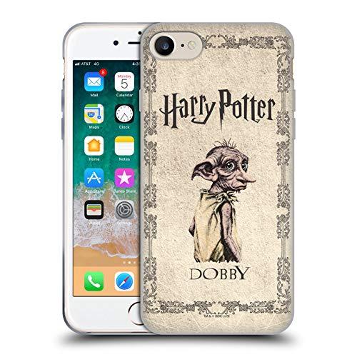 Head Case Designs Oficial Harry Potter Dobby House Elf Creature Chamber of Secrets II Carcasa de Gel de Silicona Compatible con Apple iPhone 7 / iPhone 8 / iPhone SE 2020