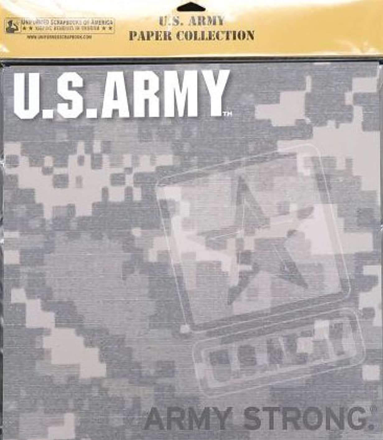 UNIFORMED U.S. Army Paper Pack, 20 Count
