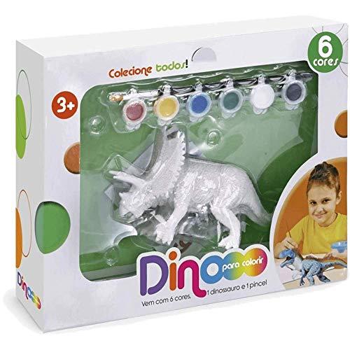 Coleção Dino Para Colorir - Tricerátopo - 6300 - Xplast