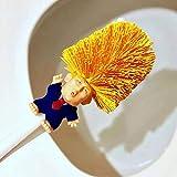 shengyze ドナルド・トランプ大統領トイレブラシ 長い持ち手 トイレボウルブラシクリーナー ホームバスルーム用 トイレを再現 1476953-shengyuze-us