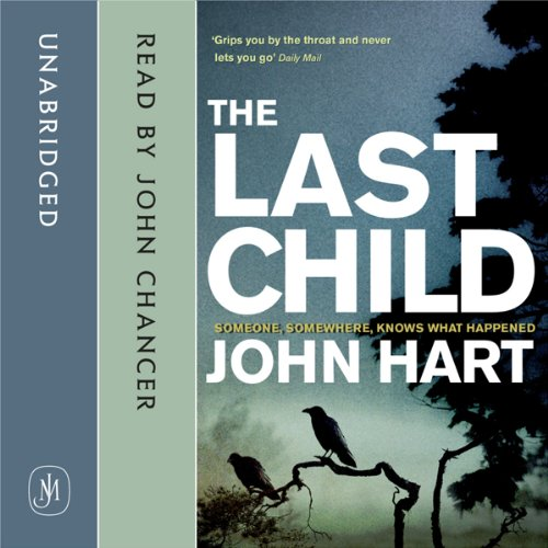 The Last Child audiobook cover art