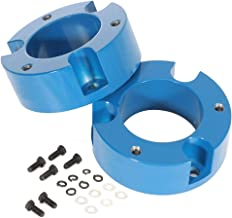 ECCPP 3 inch Front Raise Your Vehicles 3 inch Suspension Leveling Lift Kit Compatible with 1995 1996 1997 1998 1999 2000 2001 2002 2003 2004 Toyota Tacoma Race Blue 2WD/ 4WD