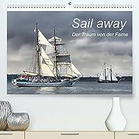 Sail away (Premium, hochwertiger DIN A2 Wandkalender 2022, Kunstdruck in Hochglanz): Maritimer Monatskalender mit wunderschoenen Segelschiffen aus mehreren Jahren Hanse Sail in Rostock-Warnemuende. (Monatskalender, 14 Seiten )
