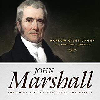 John Marshall audiobook cover art
