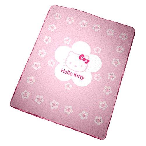 CTI 036583 Couverture en Polaire Hello Kitty Tokyo 130 x 160 cm, Rose