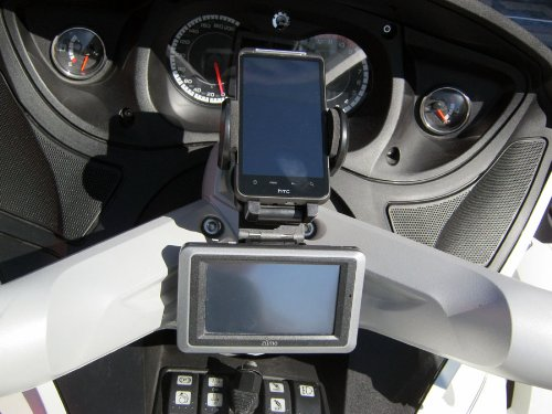 Can-Am Spyder RT/S Phone and Camera Mount System