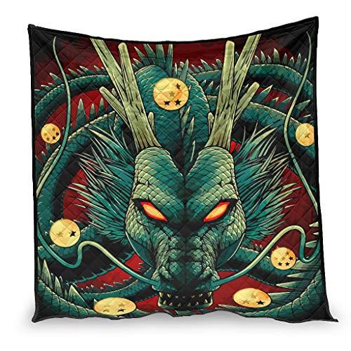 YshChemiy Funda de edredón de algodón para coche con diseño de dragón de Dios, antibolitas, para ropa de cama de adulto y niños, color blanco 180 x 200 cm