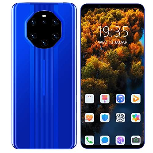 Astibym Smartphone, téléphone à écran de 5,8 Pouces, téléphone à écran de 5,8 Pouces, Double Carte, Double téléphone en Veille, processeur Puissant pour l extérieur(Bleu, 12)