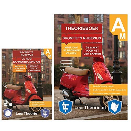 Bromfiets Theorieboek | Scooter Theorieboek rijbewijs AM | Bromfiets theorie CD ROM | Scooter Theorie Rijbewijs Nederland | Brommer Rijbewijs Am | Scootertheorie Boek Nederland – Met CD-ROM