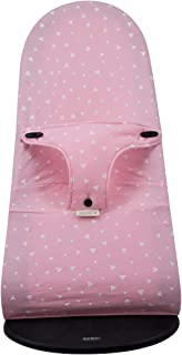 Janabebe Cover Compatible with Baby Bouncer Babybjorn Soft, Balance and Bliss (Pink Sparkles) - coolthings.us