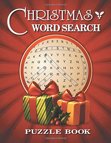 Christmas Word Search: Word Find Puzzle Book For Adults And Kids