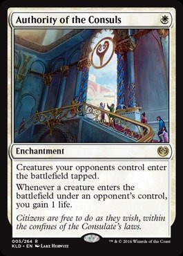 Magic The Gathering - Authority of The Consuls (005/264) - Kaladesh