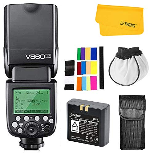 GODOX V860II-N 2.4G TTL Li-on Battery Camera Flash