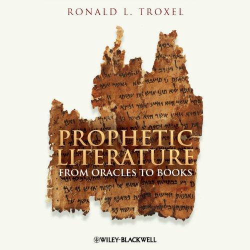 Prophetic Literature audiobook cover art