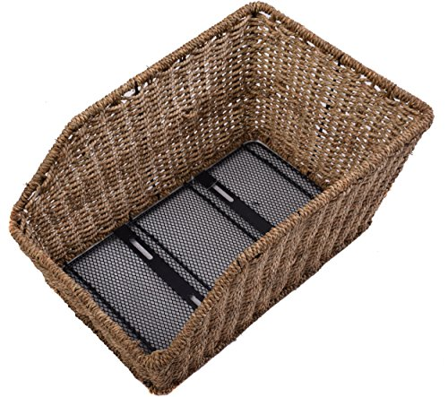 Rear Wicker Bike Basket: Ammaco