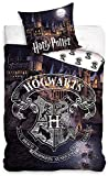 Harry Potter Wende-Bettwäsche Hogwarts 135 x 200