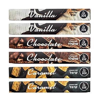 Nespresso Flavoured Capsules Pods, Cafe Joe Espresso Capsules, Nespresso Original Compatible, (60 Capsules)