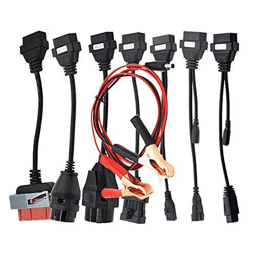 WYYHAA Cables De Automóvil Conjunto Completo 8PCS Adaptador De Conector De Diagnóstico Automático Automóvil para TCS Plus Pro 8 Cable De Automóvil OBD OBD2 Cables