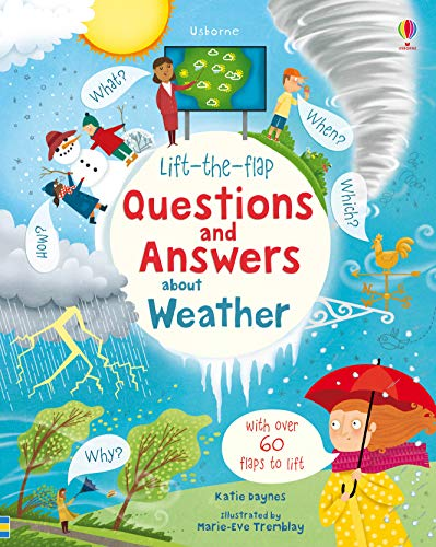 Daynes, K: Lift-the-Flap Questions and Answers About Weather