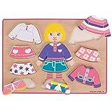 Bigjigs Toys - Puzzle para niña (madera) , color/modelo surtido