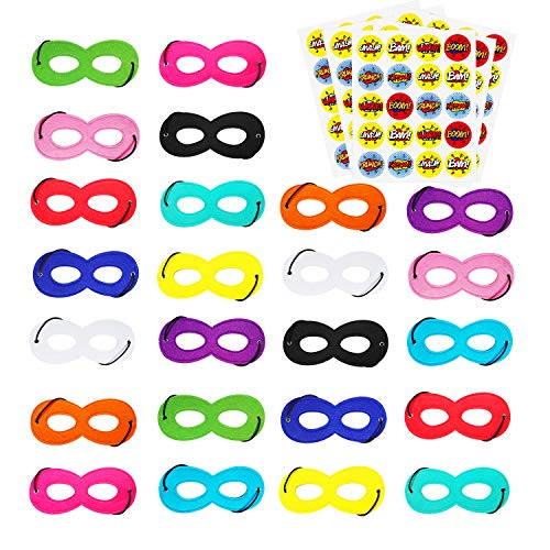 Superhero Masks and Cosplay Party Favors