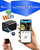 Spy hidden camera wireless wifi charger HD camera, mini hidden nanny camera without