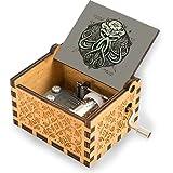 Cthulhu Awakens V2 - Caja de música de madera para cumpleaños, aniversario, boda, día de la madre