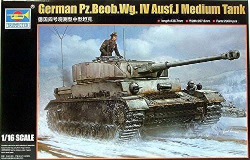 A la venta con descuento del 70%. TRP00922 1 16 Trumpeter Panzer Pz.Beob.Wg.IV Ausf J J J Medium Tank [MODEL BUILDING KIT] by Trumpeter  Venta barata