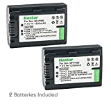 Kastar Battery (2-Pack) for Sony NP-FH50, NP-FH40, NP-FH30 & Sony DSLR-A230, DSLR-A330, DSLR-A290, DSLR-A380, DSLR-A390, HDR-TG1E, HDR-TG3, HDR-TG5, HDR-TG5V, HDR-TG7, DSC-HX1, DSC-HX200,DSC-HX100V