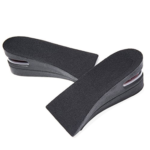 Diealles 2 Capas (Aumento de Altura 5cm) Plantilla Aumento Invisible Ascensor Plantilla Zapato Pad