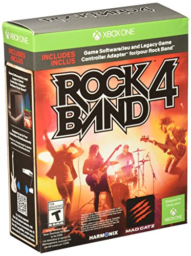 Rock Band 4 Bundle with Legacy Game Controller Adapter - Xbox One