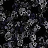 Brittschens Stoffe und Zutaten Stoff Softshell   Skull Camo