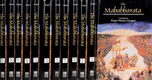 Mahabharata of Krishna-Dwaipayana Vyasa (4 Volume Set) [Paperback] [2004] (Author) Kisari Mohan Ganguly