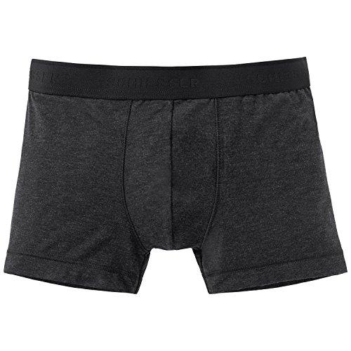 Schiesser Jungen Personal Fit Shorts Boxershorts, Schwarz (Schwarz 000), 164 (Herstellergröße: M)