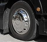 'Camiones Tapacubos 22,5Encorvada Acero Inoxidable
