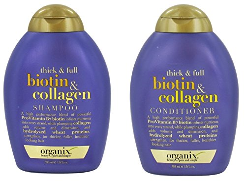 Organix Thick and Full Biotin and Collagen Shampoo & Conditioner Set