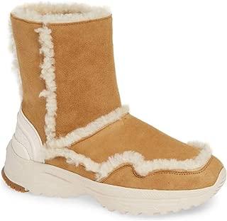 Womens Portia Leather Closed Toe Mid-Calf Fashion, Camel/Natural, Size 5.0