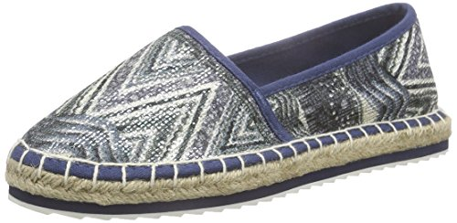 Marco Tozzi Damen 24203 Slipper, Blau (Denim Comb 853), 37 EU