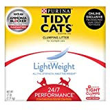Purina Tidy Cats Light Weight, Low Dust, Clumping Cat Litter, LightWeight 24/7 Performance Multi Cat Litter - 17 lb. Box
